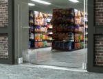 G40, la nuova antenna EAS salva-spazio di Checkpoint Systems studiata per i negozi di piccole dimensioni.